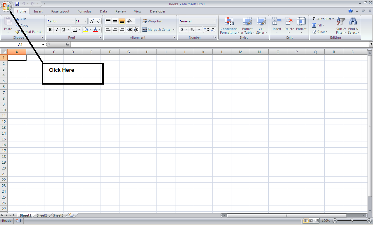 how to make a cover page in excel